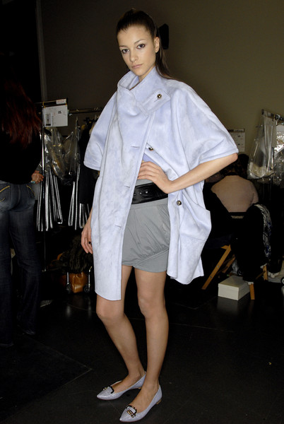 Emporio Armani Fall 2007 - Backstage