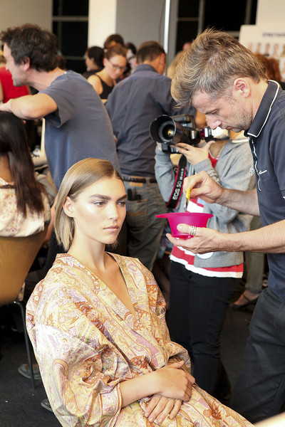 Etro at Milan Spring 2012 (Backstage)