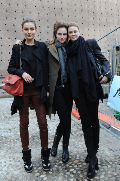 Milan Fashion Week Fall 2012 Models