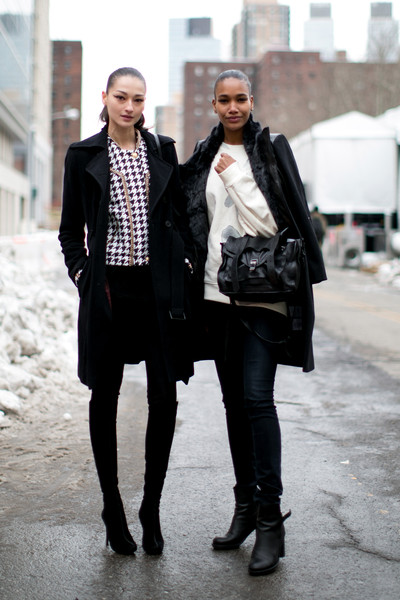 New York Fashion Week Fall 2014 Models