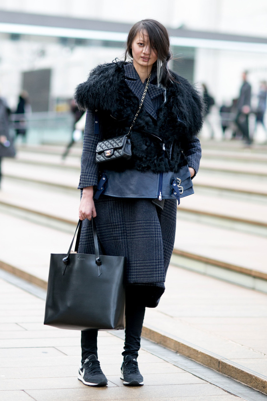 Outerwear Overload Best Street Style From New York Fashion Week Fall 2015 Stylebistro
