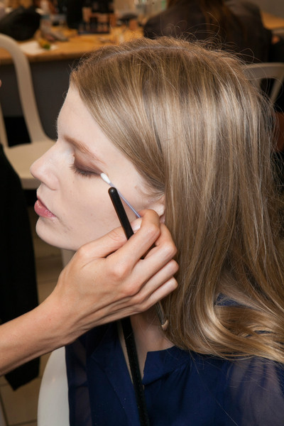 Felipe Oliveira Baptista at Paris Spring 2013 (Backstage)