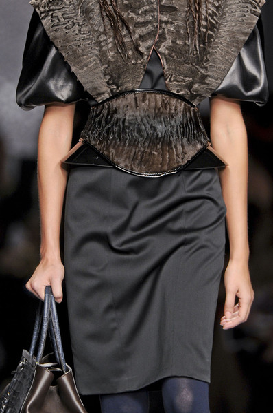 Fendi at Milan Fall 2012 (Details)