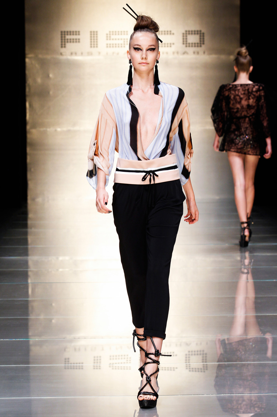 Fisico Spring 2015 The Best Runway Looks At Milan