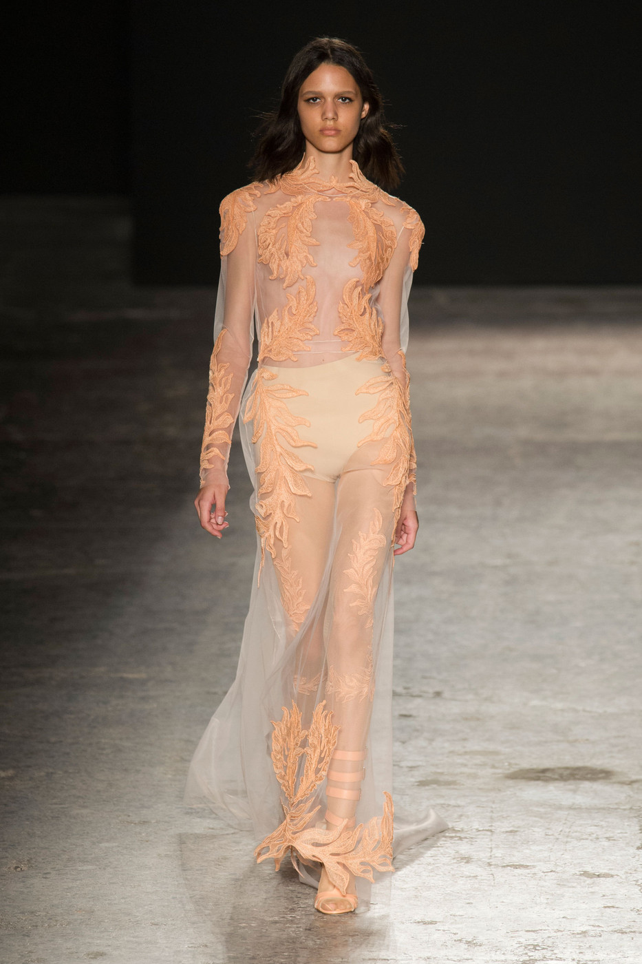Francesco Scognamiglio Spring 2015 The Best Runway Looks At Milan Fashion Week Spring 2015