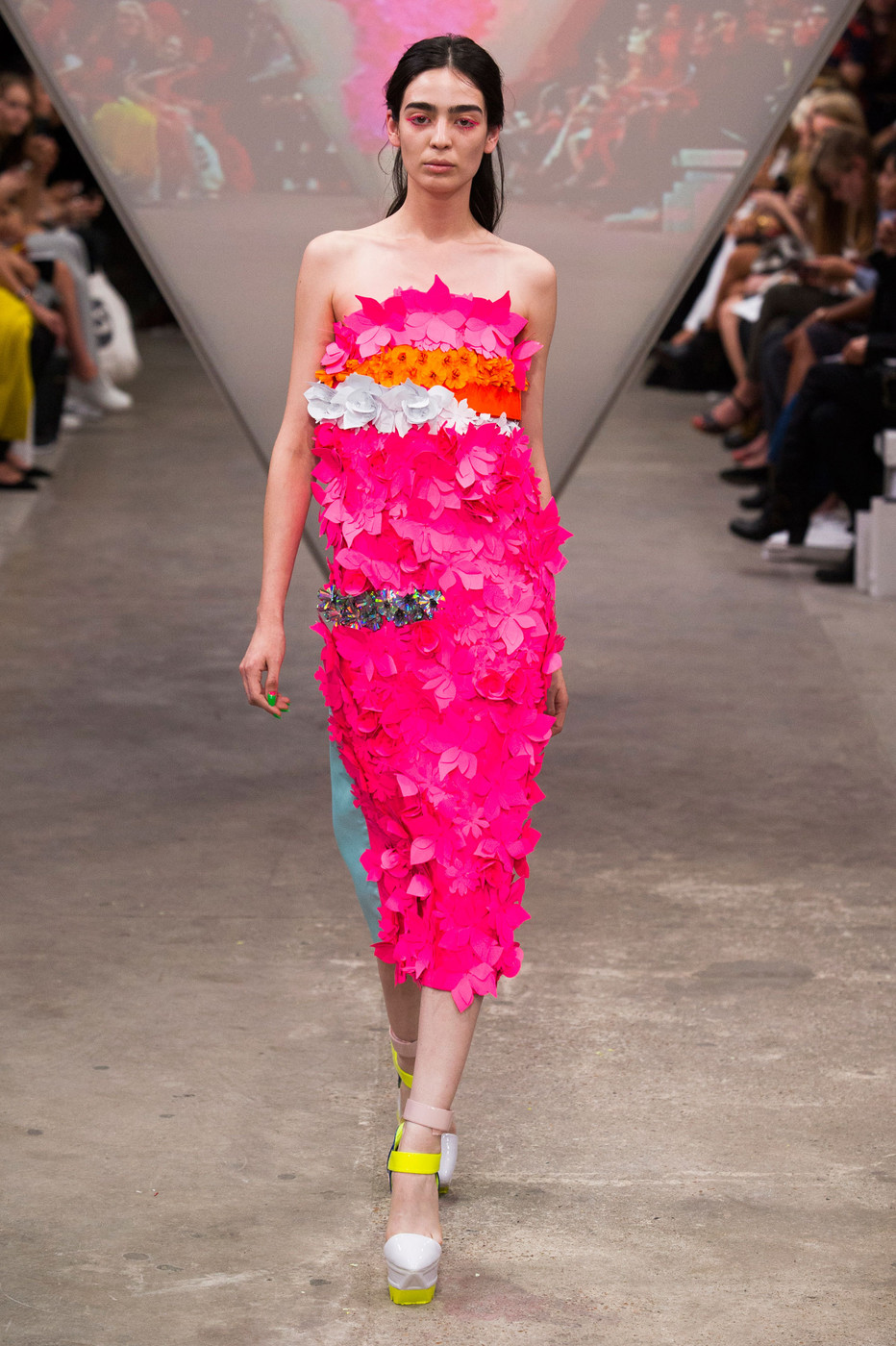 Fyodor Golan Spring 2015 The Best Runway Looks At London Fashion Week Spring 2015 Stylebistro