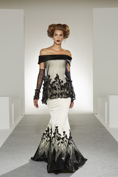 Georges chakra haute couture fall 2013 the most gorgeous for American haute couture designers