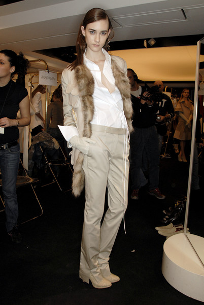 Gianfranco Ferré at Milan Fall 2007 (Backstage)