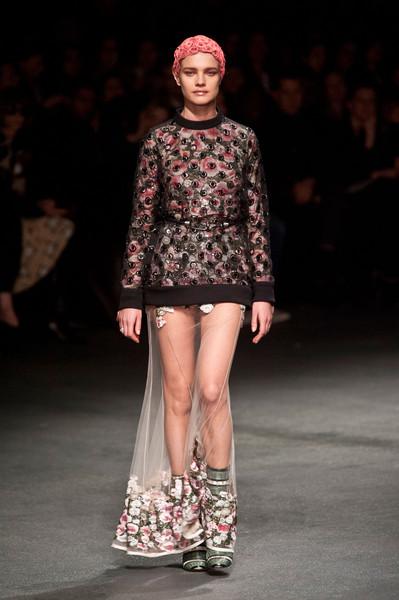 Givenchy's Totally Sheer Skirts