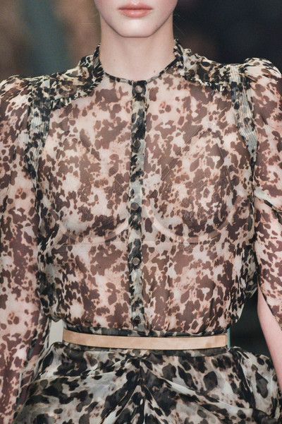 Givenchy at Paris Fall 2014 (Details)
