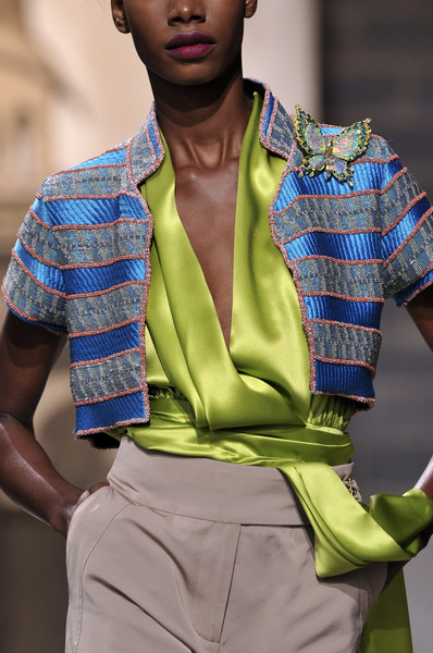 Graeme Black at London Spring 2010 (Details)
