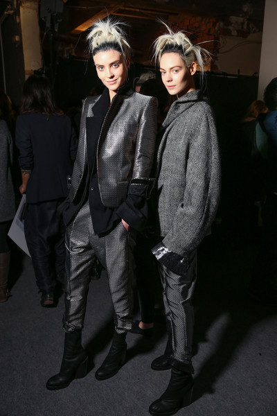 Haider Ackermann Fall 2013 - Backstage