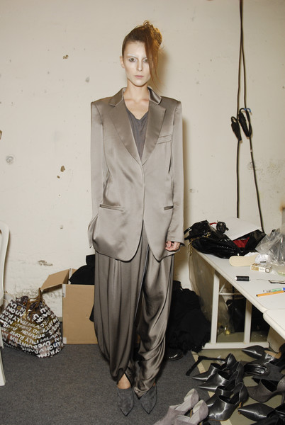 Haider Ackermann Spring 2008 - Backstage