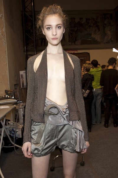 Haider Ackermann Spring 2010 - Backstage