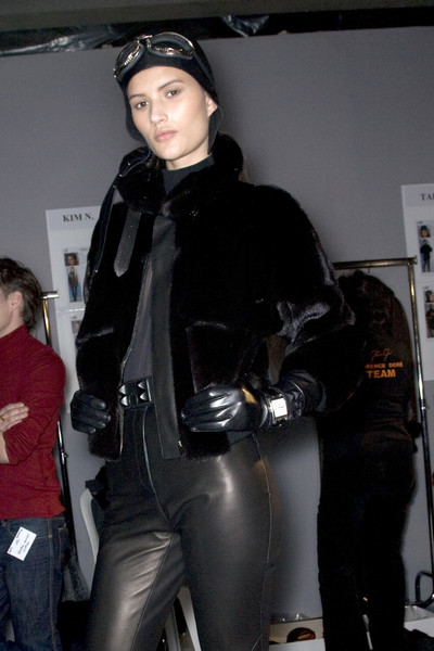 Hermès Fall 2009 - Backstage