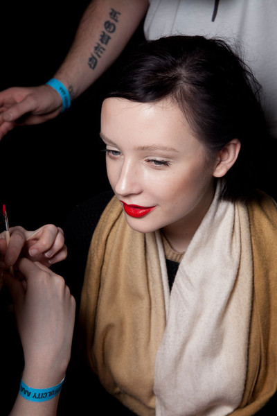 House of Holland Fall 2012 - Backstage