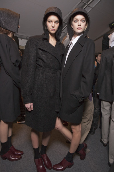 Hussein Chalayan Fall 2010 - Backstage