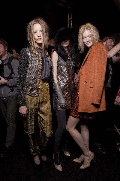 Isaac Mizrahi Fall 2010 - Backstage
