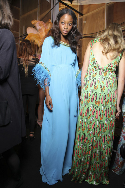 Issa at London Spring 2012 (Backstage)