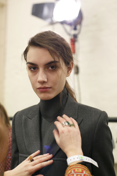 J.W. Anderson Fall 2014 - Backstage