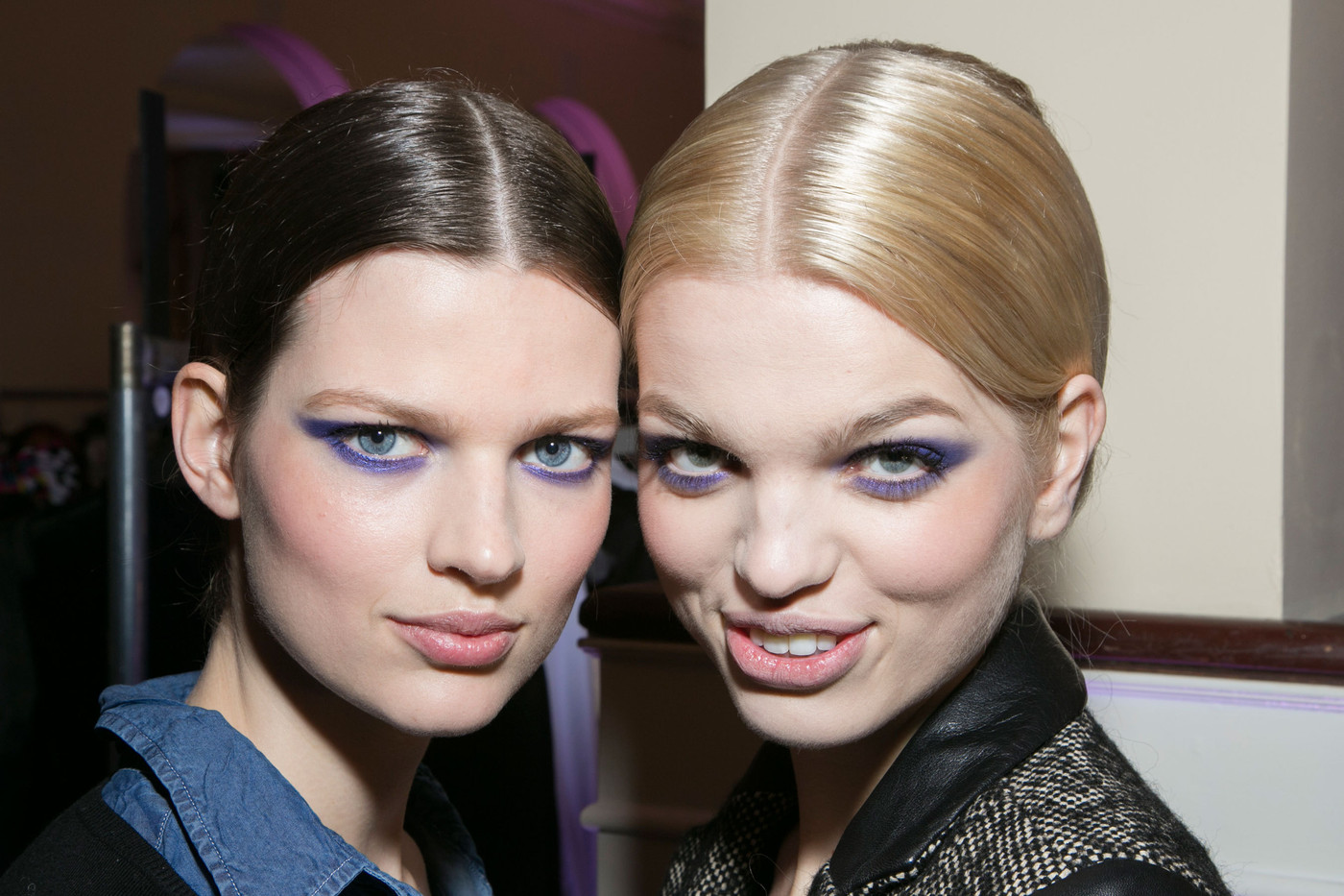 More Bette and Daphne Backstage at Jason Wu F/W  13/14