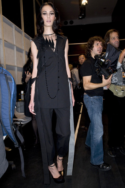 Jefen at Paris Spring 2009 (Backstage)