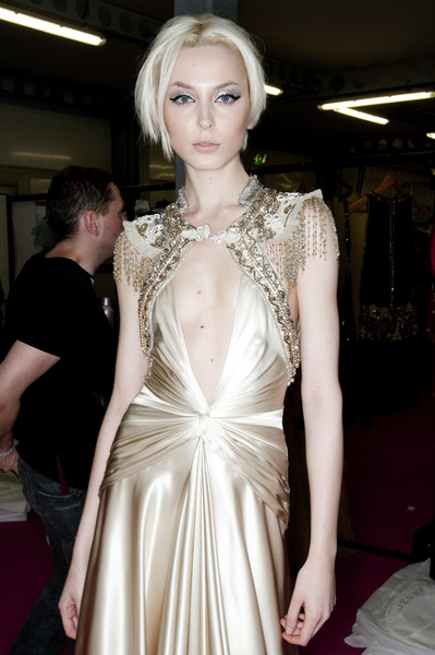 Jenny Packham Fall 2009 - Backstage