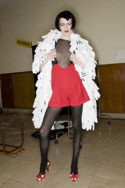 Jeremy Scott at Paris Fall 2009 (Backstage)