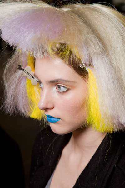 Jeremy Scott Fall 2012 - Backstage