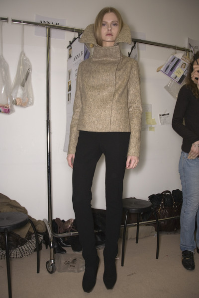Jil Sander Fall 2008 - Backstage