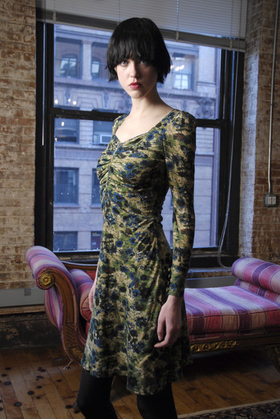 Jovovich-Hawk at New York Fall 2008