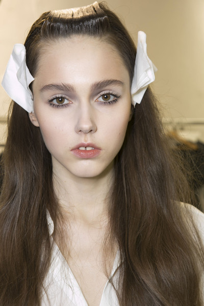 Julien David Fall 2013 - Backstage