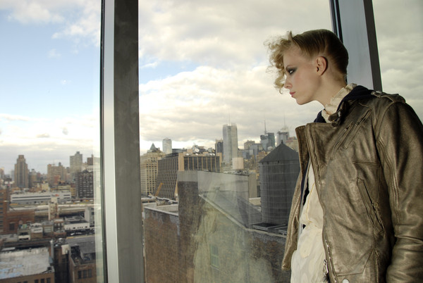 Kai Kühne at New York Fall 2008 (Backstage)