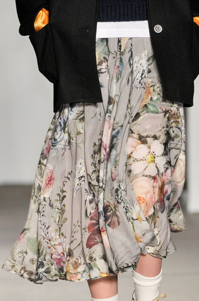 Karen Walker at New York Fall 2011 (Details)