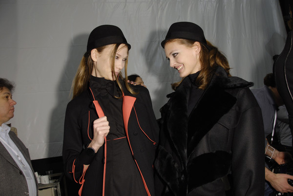 Karl Lagerfeld Fall 2008 - Backstage