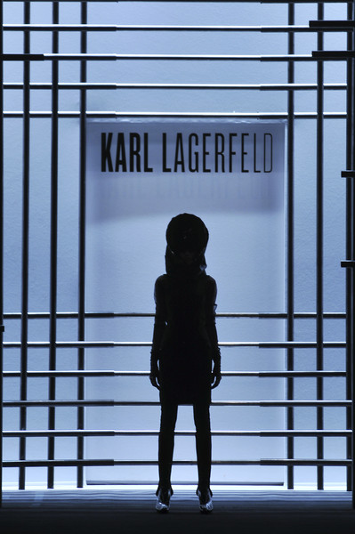 Karl Lagerfeld at Paris Fall 2009