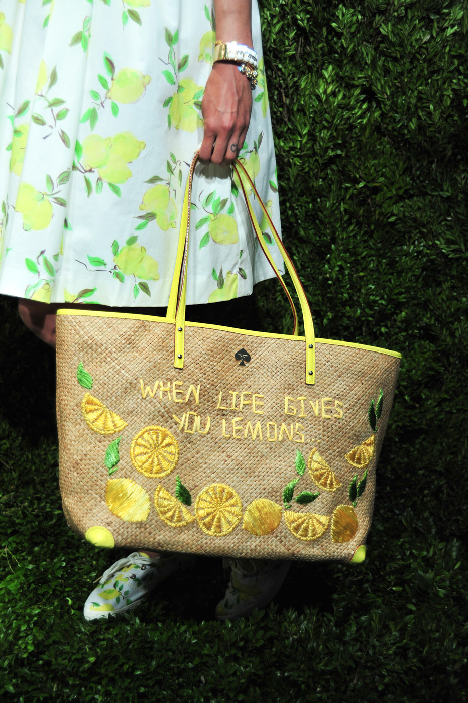 Obsession: Kate Spade New York's Lemon Accessories