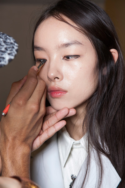 Kenzo at Paris Spring 2013 (Backstage)