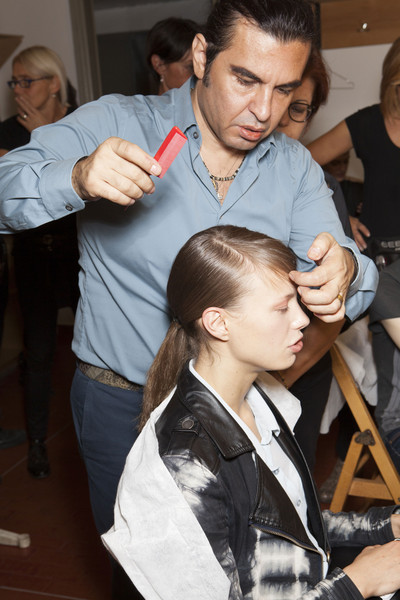 Laura Biagiotti at Milan Spring 2014 (Backstage)