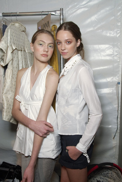Lela Rose at New York Spring 2008 (Backstage)