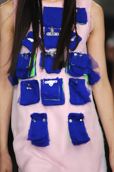 Louise Gray at London Spring 2008 (Details)