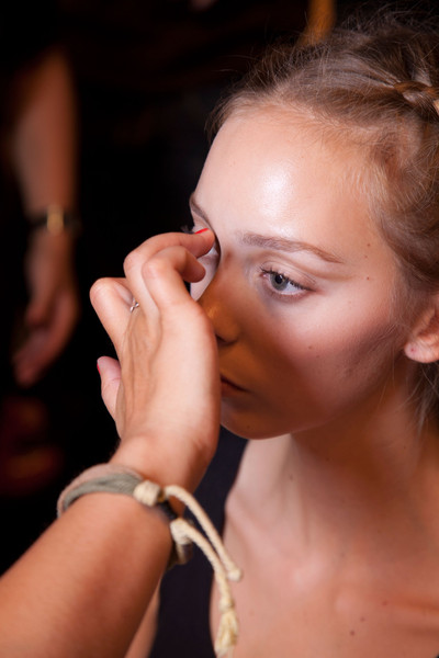 Maria Grachvogel Spring 2013 - Backstage