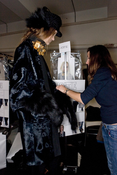 Marni Fall 2009 - Backstage
