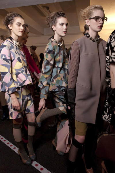Marni at Milan Fall 2010 (Backstage)