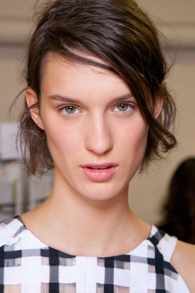 Backstage Beauty at Marni Spring 2013
