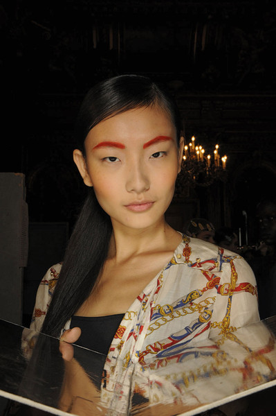 Martin Grant at Paris Spring 2012 (Backstage)