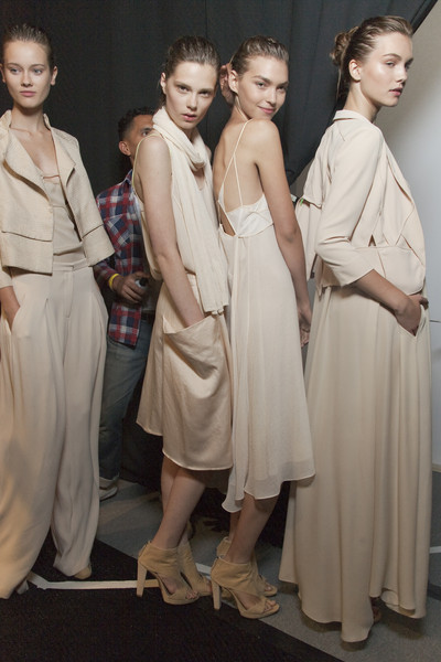 Max Azria at New York Spring 2011 (Backstage)