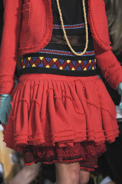 Meadham Kirchhoff at London Fall 2011 (Details)