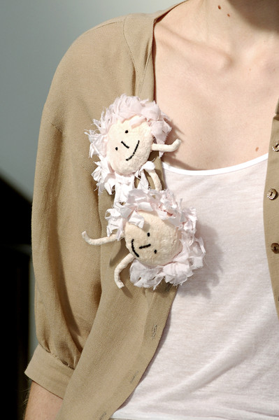 Mina Perhonen at Paris Spring 2008 (Details)