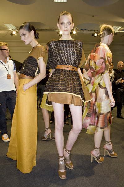Missoni at Milan Spring 2009 (Backstage)